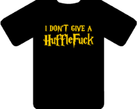 HOGWARTS HUFFLEFUCK TEE - INSPIRED BY HARRY POTTER HUFFLEPUFF